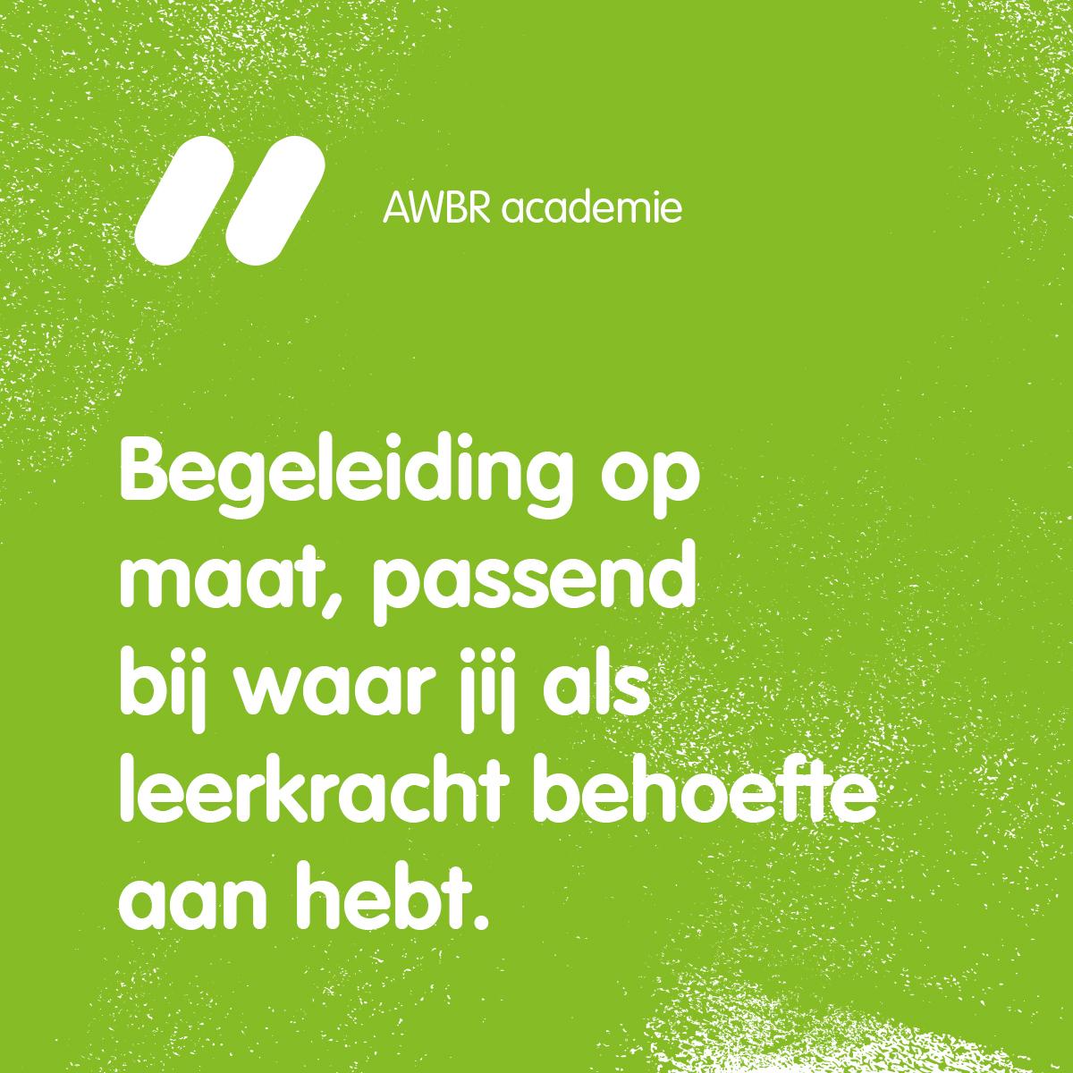 Quote AWBR academie